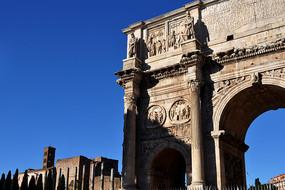 古罗马君士坦丁凯旋门