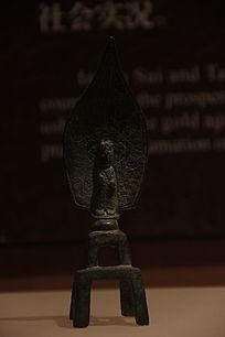 昙胜造观音菩萨铜像
