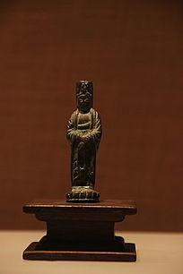 铜观音菩萨像