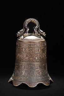 铜宣德款万古流芳钟