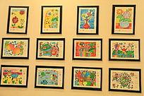 小学生绘画展