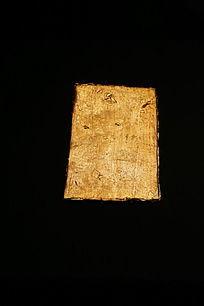 西汉时期海昏侯文物展金板