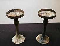 西汉时期海昏侯文物展青铜豆形灯