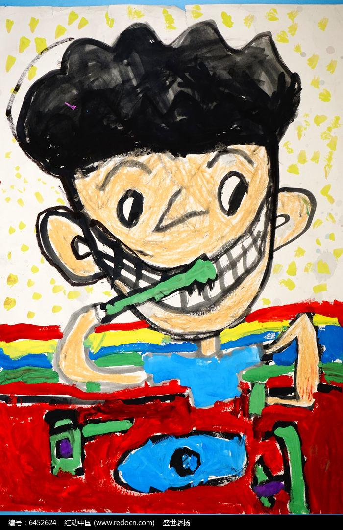 儿童卡通人物画