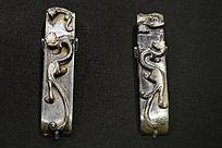 汉代螭龙纹玉剑饰