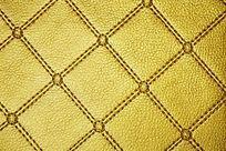 金色皮革纹理背景