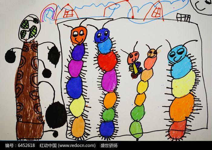 小动物卡通创意画图片