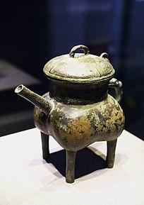西周时期燕都青铜器文物刻盉