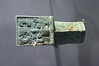 西周早期青铜车轴饰