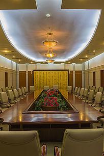 长方形会议室