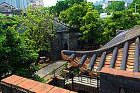 古建筑庭院景观