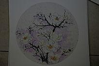 茂盛的挑花