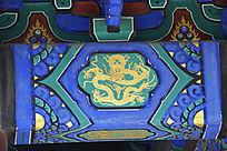 清皇家建筑图案