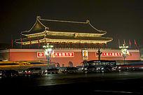 天安门城楼夜景