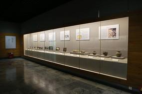 西周燕都文物的展台