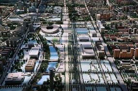 奥林匹克公园地区模型
