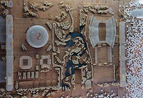 奥林匹克公园沙盘模型