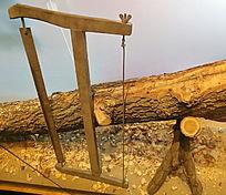 传统木匠工具锯子