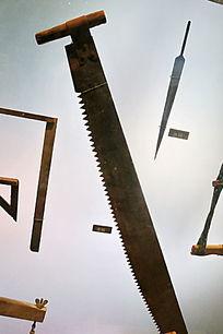 传统木匠工具龙锯