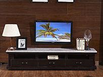 电视柜背景墙室内设计中国风