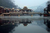 凤凰古城沱江夸江桥