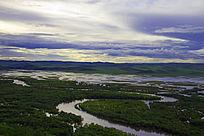 根河湿地大转弯