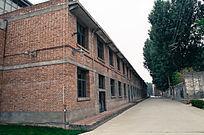 红砖老厂区厂房