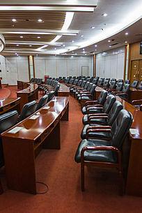 弧形会议室软皮座椅