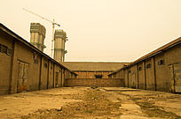 老厂区厂房做旧