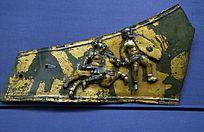 骑士雕像马护胸甲残片