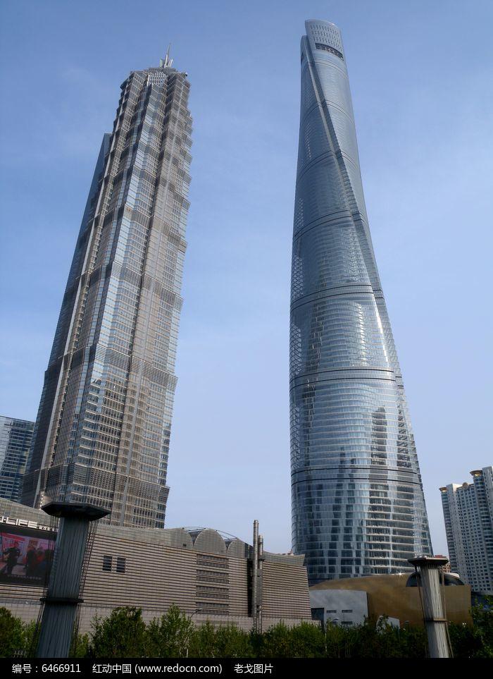 原创摄影图 建筑摄影 城市风光 上海浦东上海中心金茂大厦  请您分享