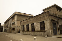 无人老厂区厂房