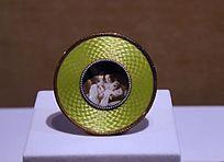 法贝热公司用黄金、银镀金制作的相框