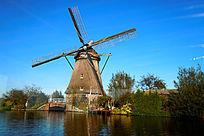 荷兰桑斯安斯风车