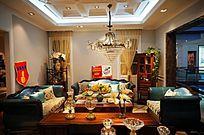 精致的欧式客厅
