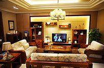 客厅装饰样板屋