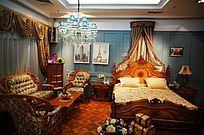 美式沙发和床