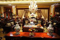 欧美美式风格客厅