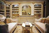 欧式沙发酒柜