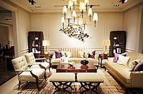 浅色风格会客厅