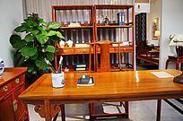 实木桌椅书房