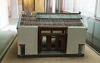 清代乐善堂建筑模型