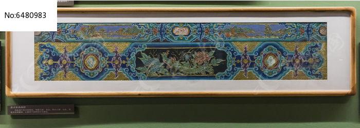 苏式彩绘画样图片