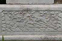五塔寺石刻浮雕海水奔马