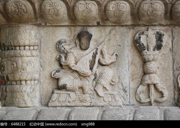 五塔寺石刻金刚菩萨浮雕