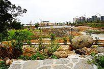 公园建筑施工