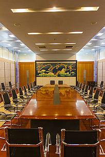 梅花屏小会议室