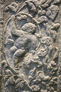 五塔寺石刻元代婴儿雕像