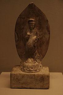 白石观音菩萨立像