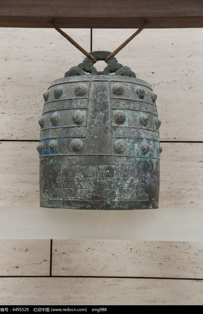 春秋时期蟠螭纹青铜编钟